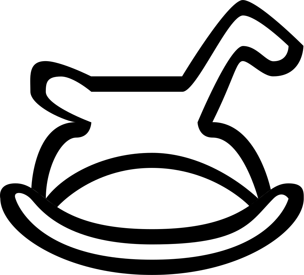 Toddler svg outline. Linear children png icon