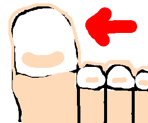 Toe drawing cute. At getdrawings com free