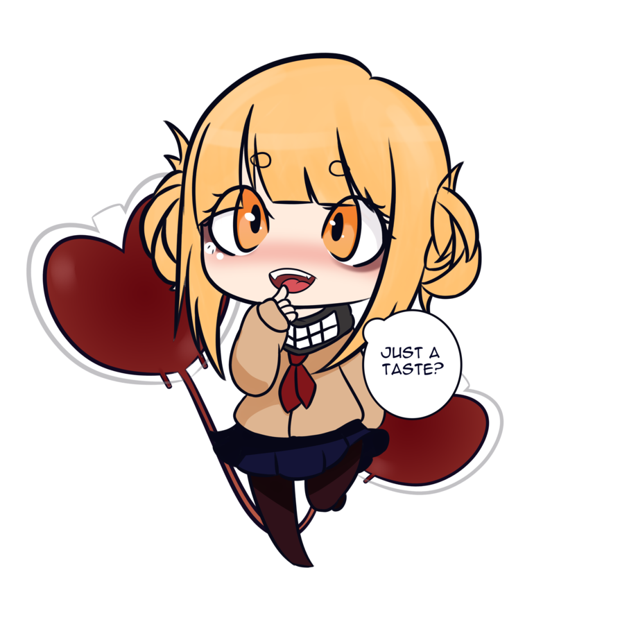 Toga drawing animated. Himiko chibi by staylewd