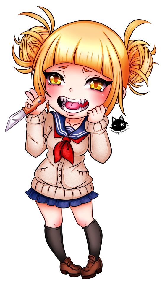 Toga drawing traditional. Himiko by starry eyed