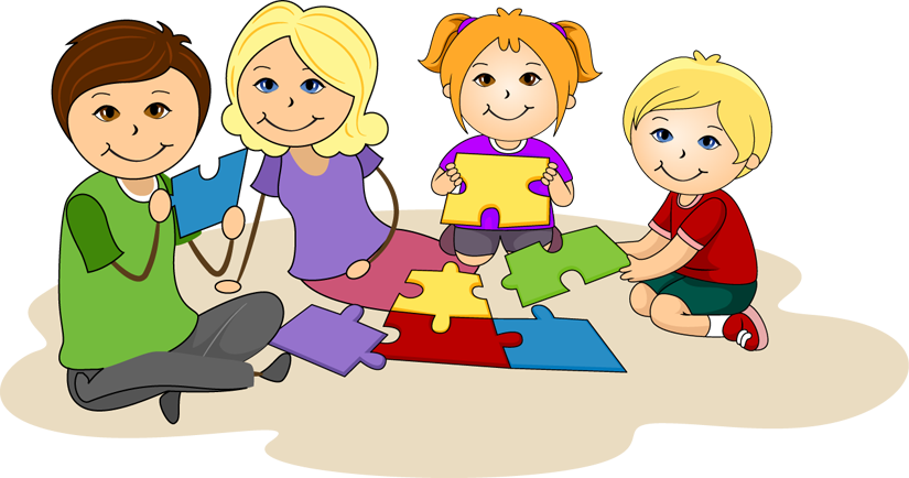 Together clipart students. Working top of letters