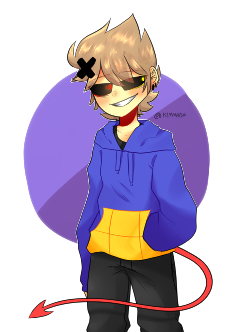 Corrupted pinterest toms and. Tom drawing eddsworld banner transparent library
