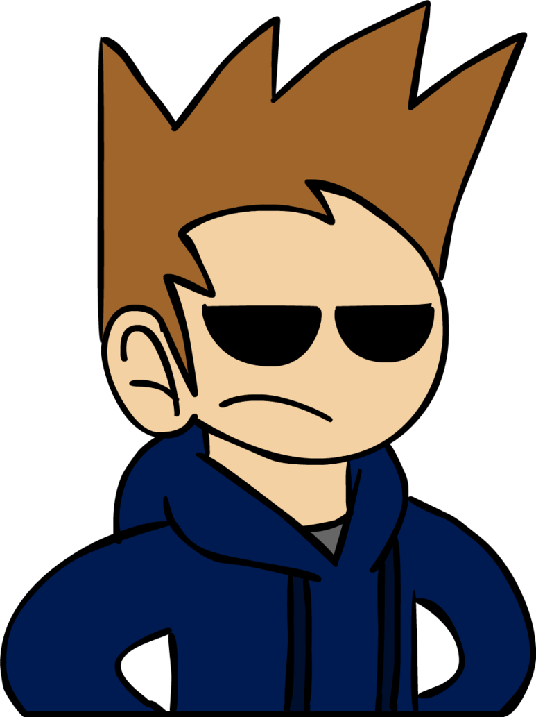 By r quill on. Tom drawing eddsworld banner transparent stock