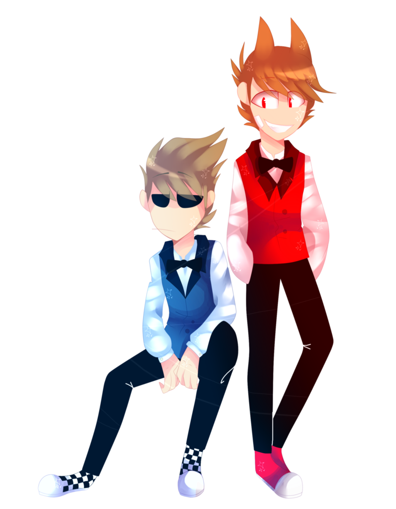 Tom drawing tord. Eddsworld and suit theme