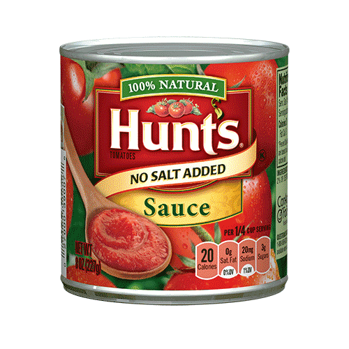 Tomato sauce png. No salt added hunt