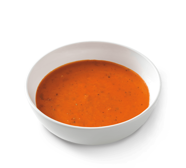Tomato soup png. Basil bisque noodles world