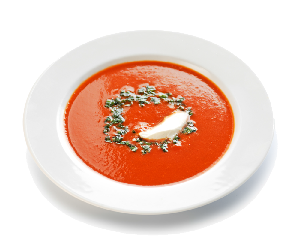 Tomato soup png. Red pepper recipe free