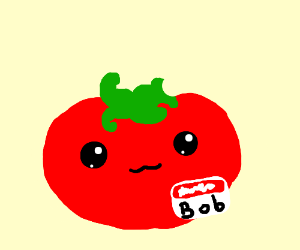 Tomatoes clipart bob. Just a simple tomato