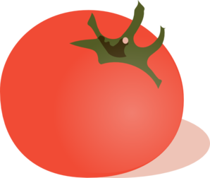 Vector vegetables tomato. Clipart vegetable planting free