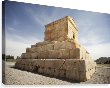 Tomb drawing pasargadae. Of cyrus the great