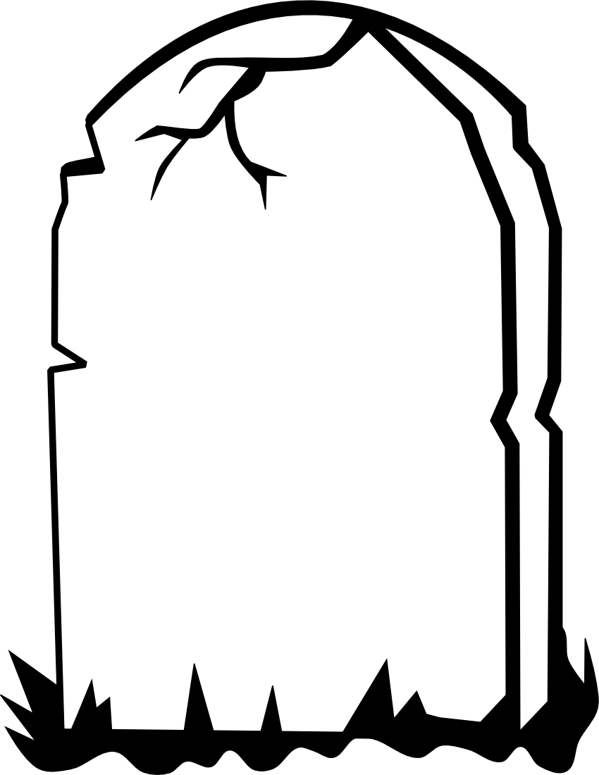 Tombstone clipart. Best of collection digital