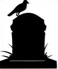 Tombstone clipart. Free