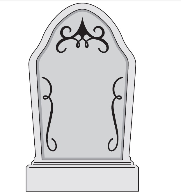 Tombstone clipart tombstone template. Gravestone free download clip