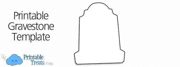 Tombstone clipart tombstone template. Printable pencil and in