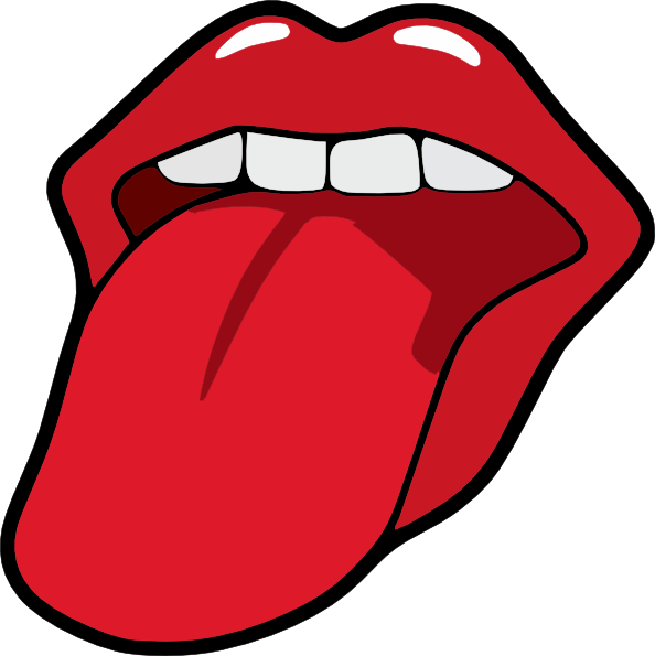Tongue clipart cute. Free collection download and