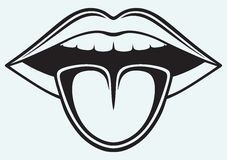 Tongue clipart outline. Inspirational of mouth and