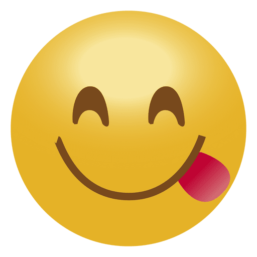 Tongue emoji png. Smile emoticon transparent svg