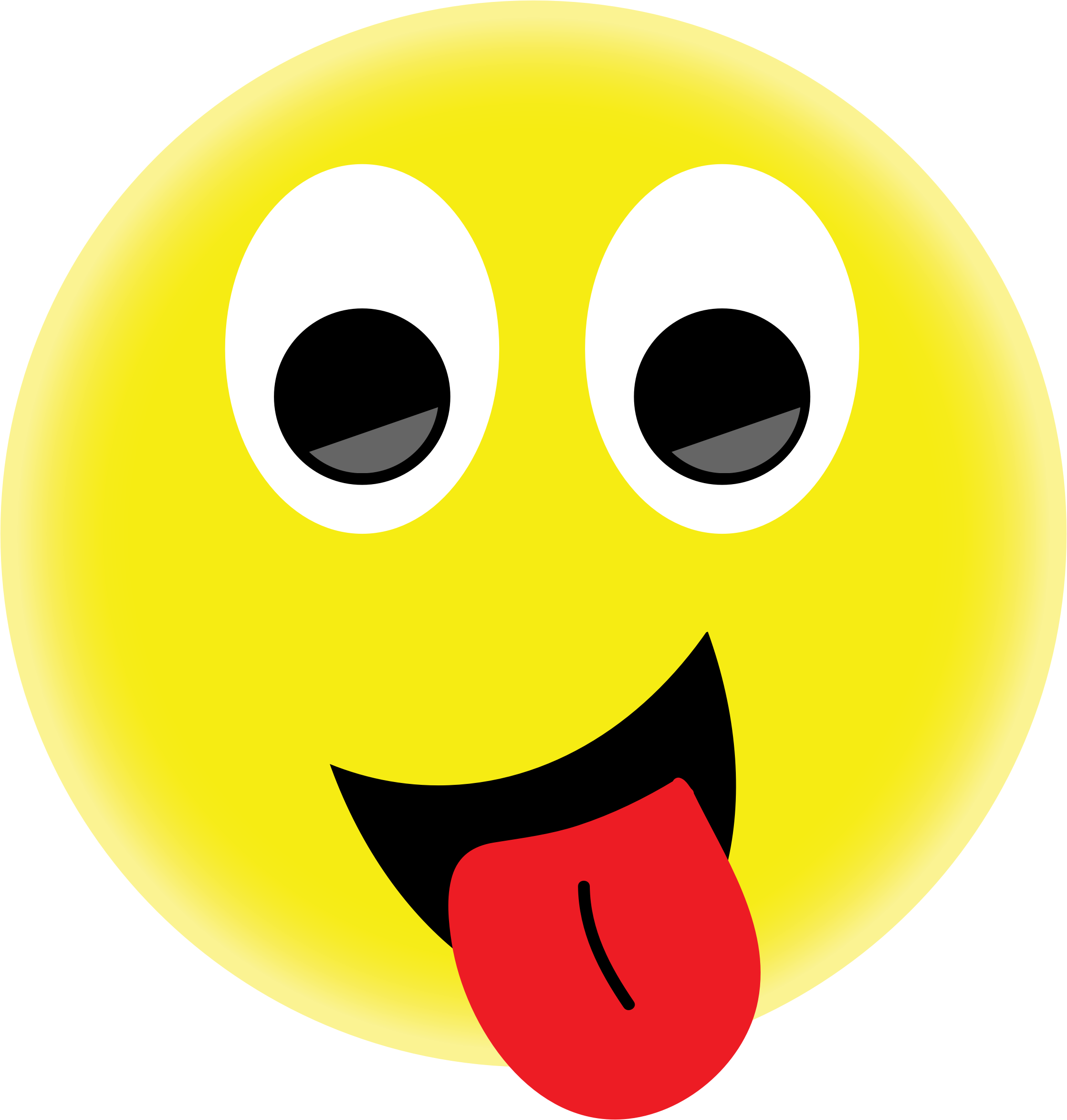 Tongue out emoji png. Smiley face with transparent