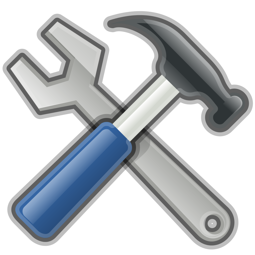 Tool svg. File tools wikimedia commons