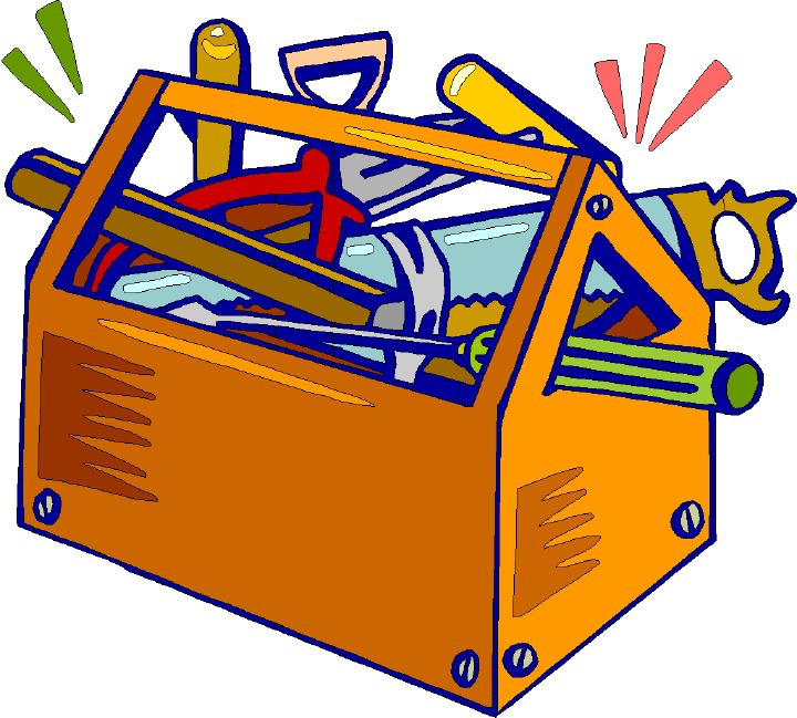 Toolbox clipart contractor tool. Put down the remote