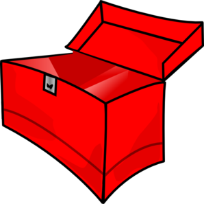 Toolbox clipart empty. Red clip art at