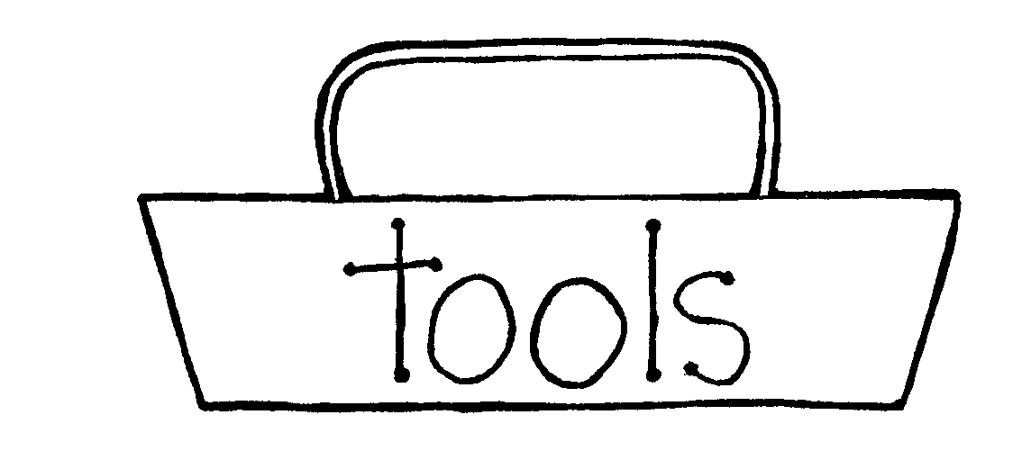 Toolbox clipart reading. Tool box white