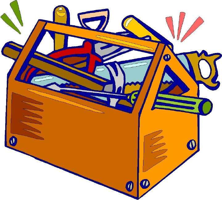 Toolbox clipart tool box. Reading space greentral com
