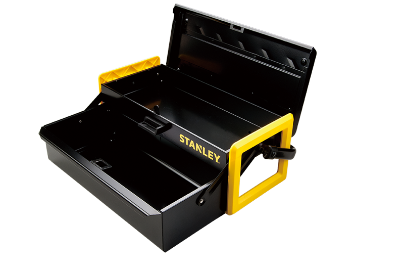 Toolbox drawing cantilever. Stanley hand tools storage