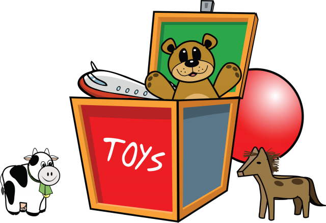 Toolbox drawing cartoon. The in home pediatric