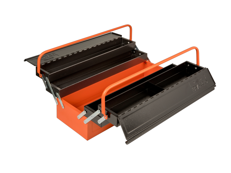 Toolbox drawing cantilever. Style tool box with