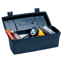 Toolbox drawing tool box. Lil brute utilitytool without