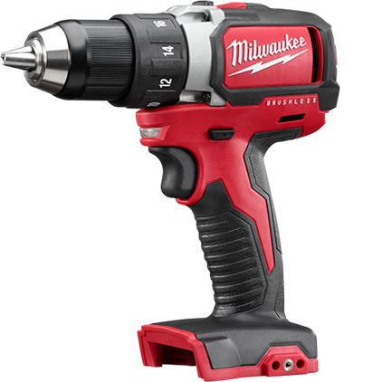 Tools clip drill. M compact brushless driver