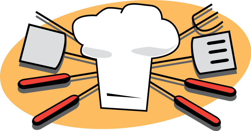 Chef tools . Mother clipart kitchen clipart graphic