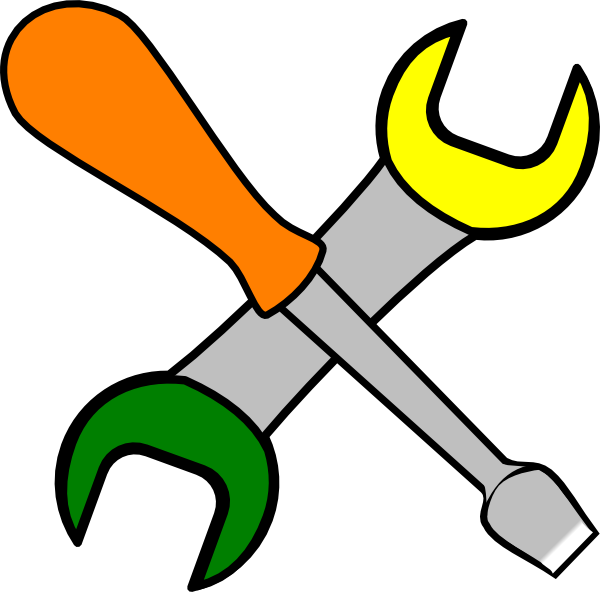 Tools clipart png. Coloured clip art at