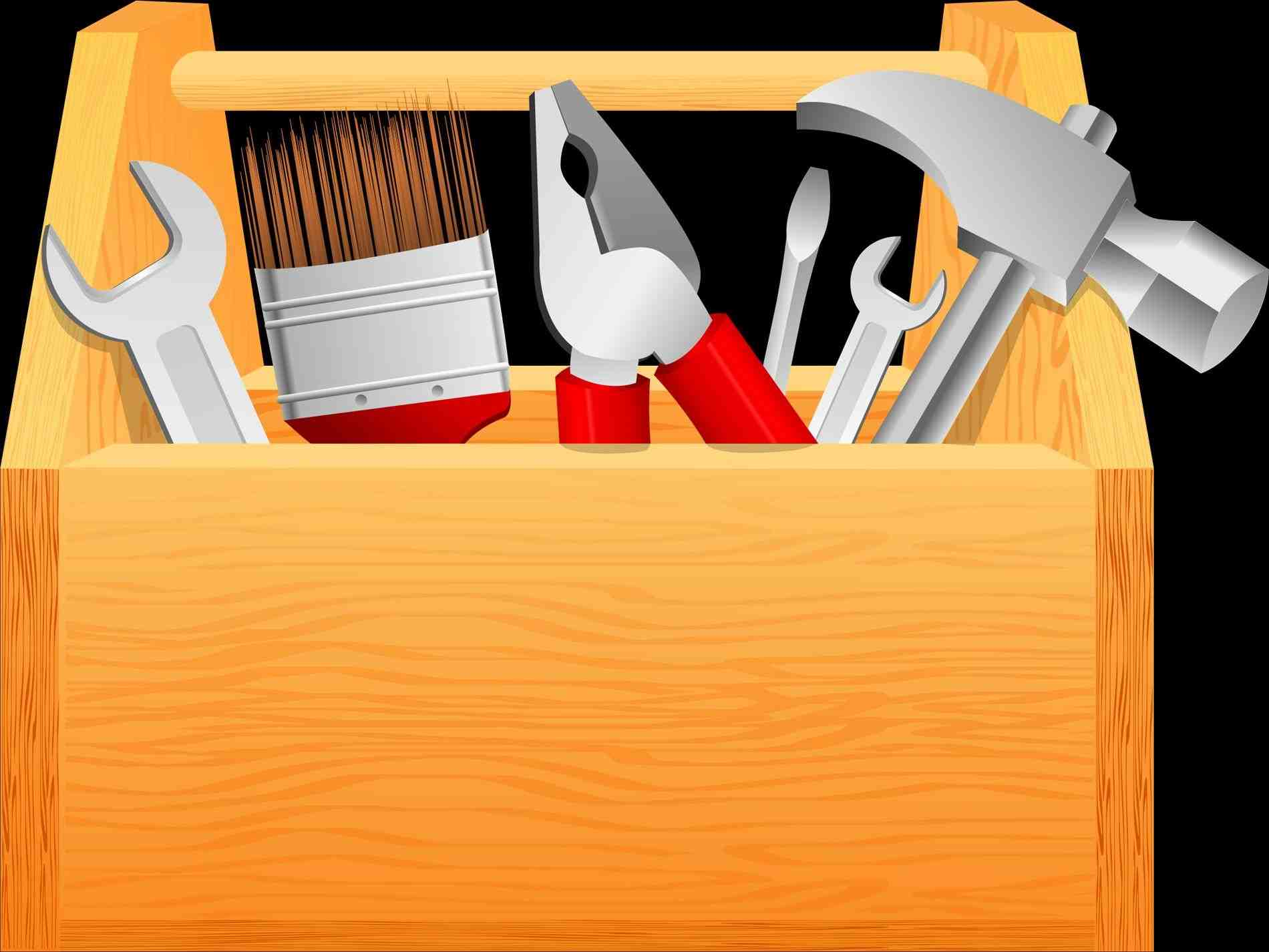 Toolbox clipart. The images collection of