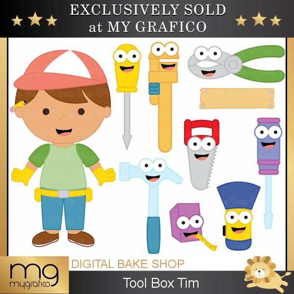 Tools clipart toolbox. Best images on