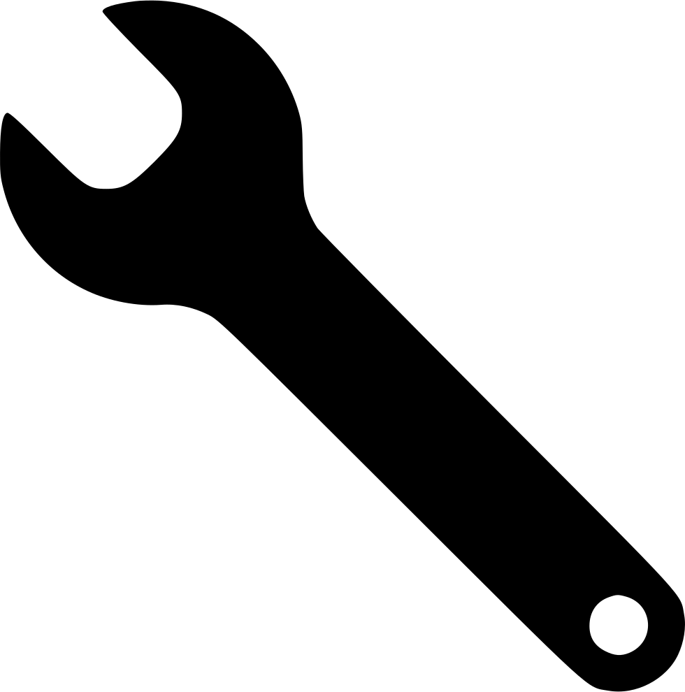Tool svg. Wrench tools repair config
