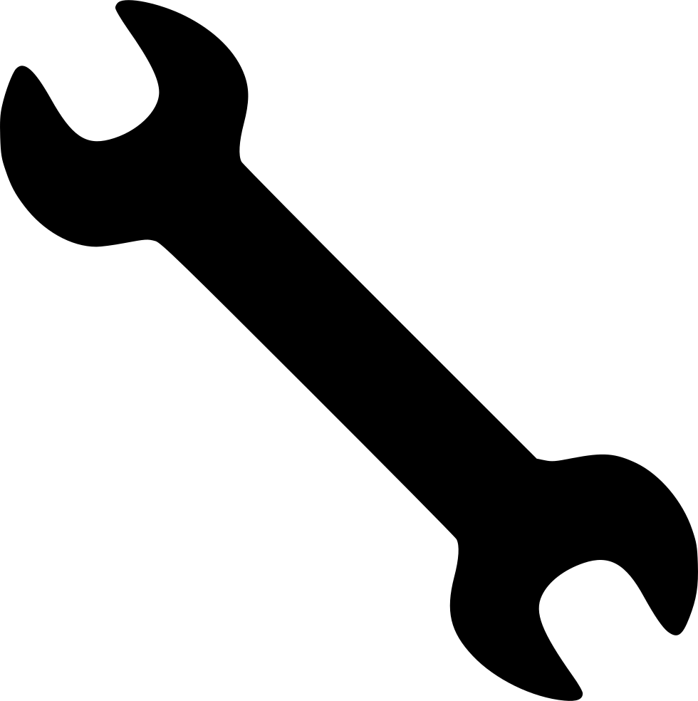 Tool svg. Wrench tools settings png