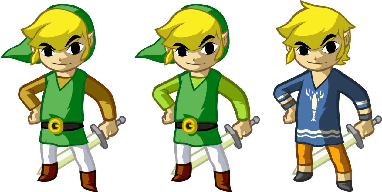 Toon link wind waker png. S wardrobe by doctor