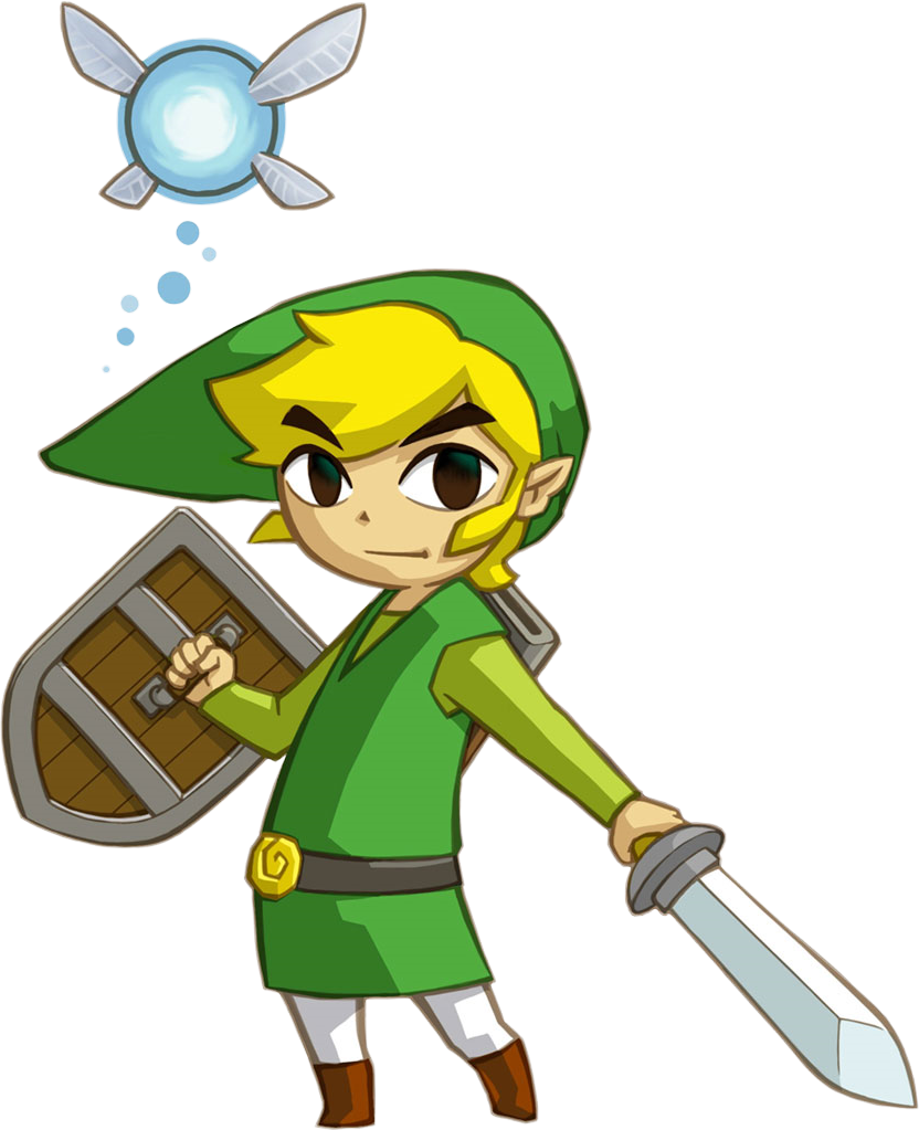 Toon link wind waker png. Can we get a