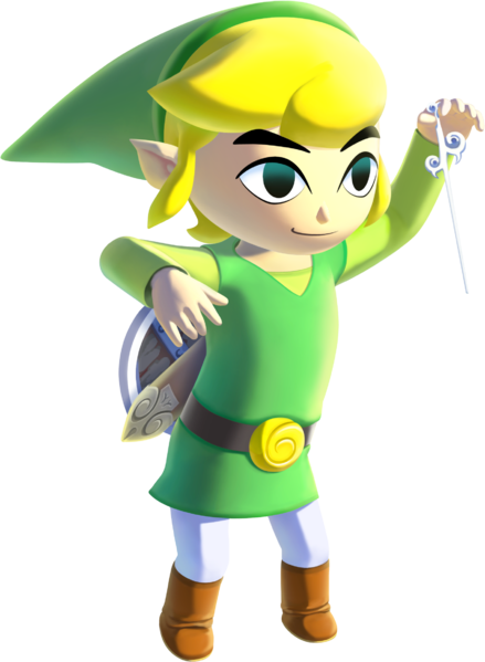 Transparent link cartoon. Toon ssbcombat fantendo nintendo
