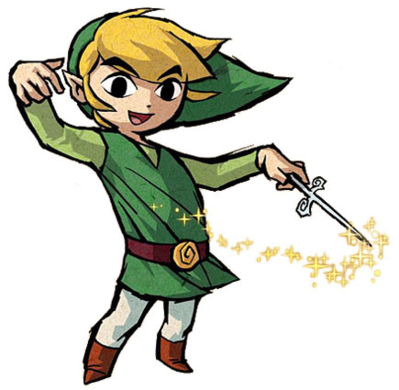 Toon link wind waker png. The with wii zelda