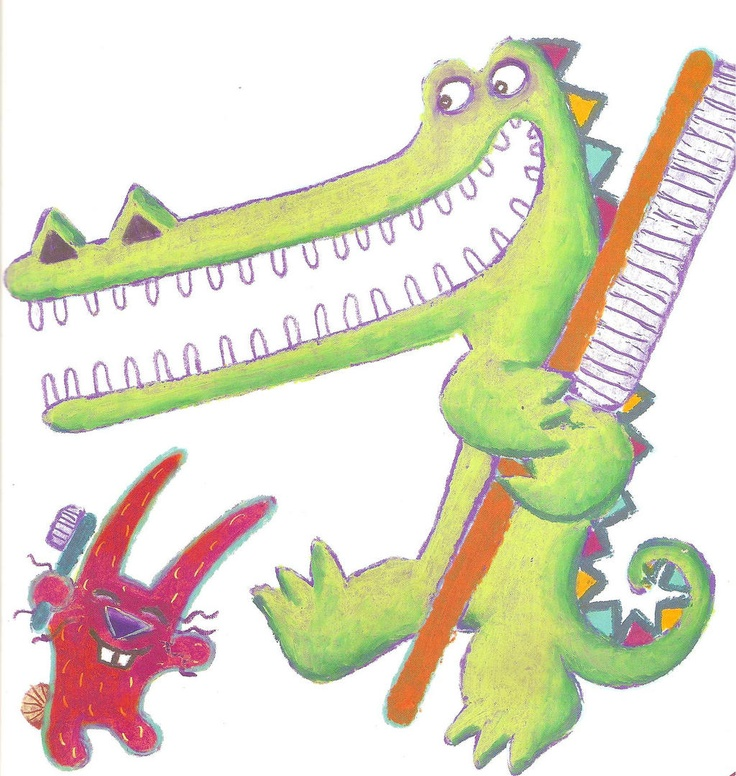 Tooth clipart alligator. Best my illustrations