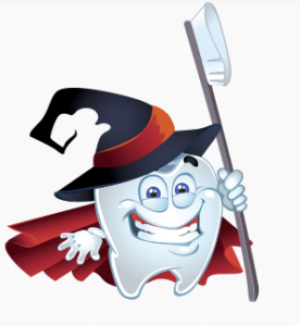 Tooth clipart halloween. Tips from your dentist