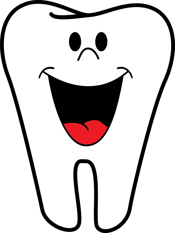 Tooth clipart smiley face. Happy panda free images
