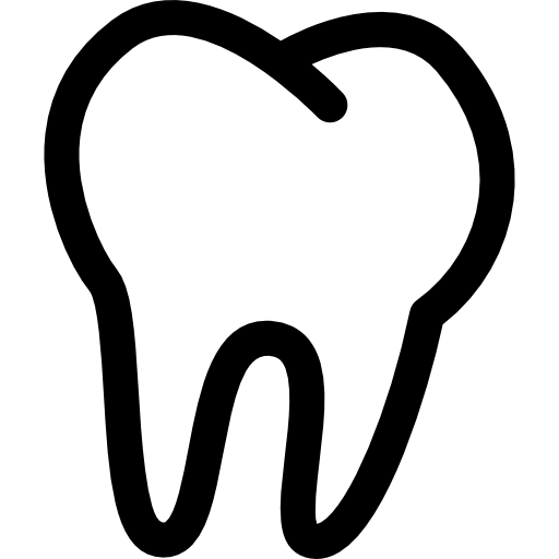 Tooth icon png. Outline free medical icons