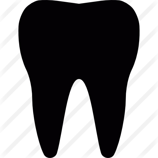 Tooth silhouette png. Vectors photos and psd