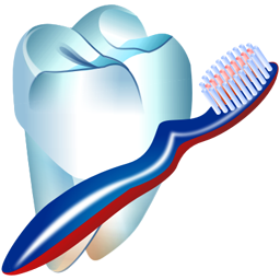 Toothbrush clip single tooth. Home care