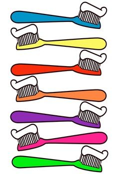 Clip art this file. Toothbrush clipart banner freeuse library