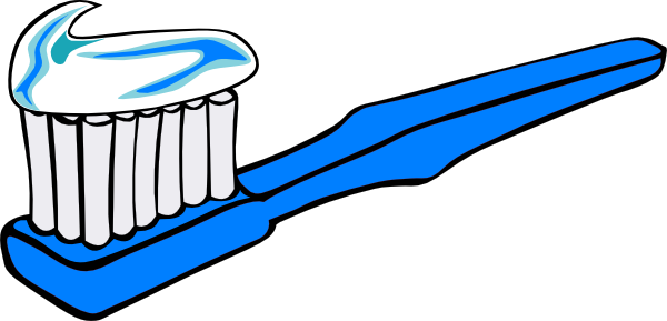 toothbrush clipart silhouette